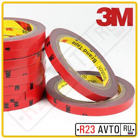 Двухсторонний скотч 3M (6mmх5m)