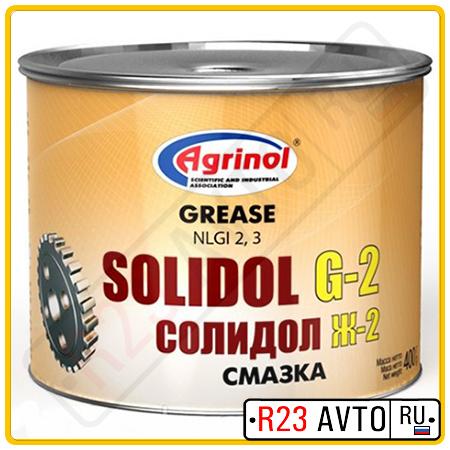Смазка AGRINOL Солидол G2 400g