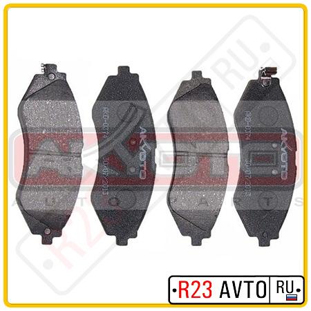 Колодки тормозные передние AKYOTO AKD0374