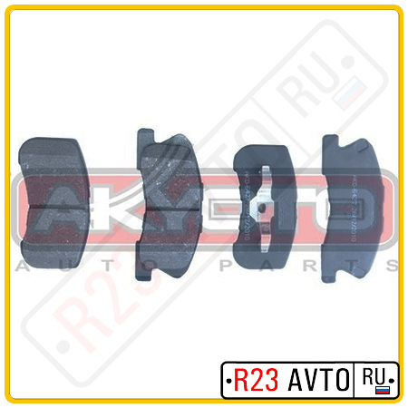 Колодки тормозные передние AKYOTO AKD-6427