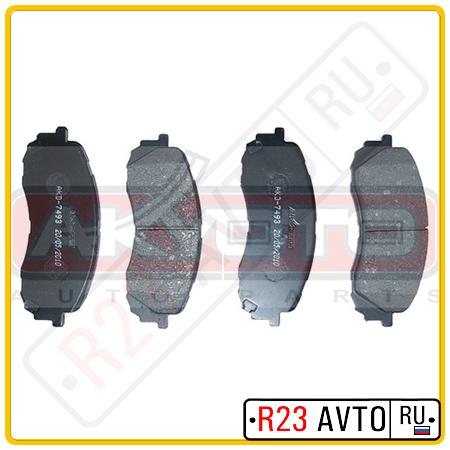 Колодки тормозные передние AKYOTO AKD-7493 (SUBARU)