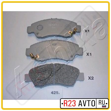 Колодки тормозные передние ASHIKA 50-04-425