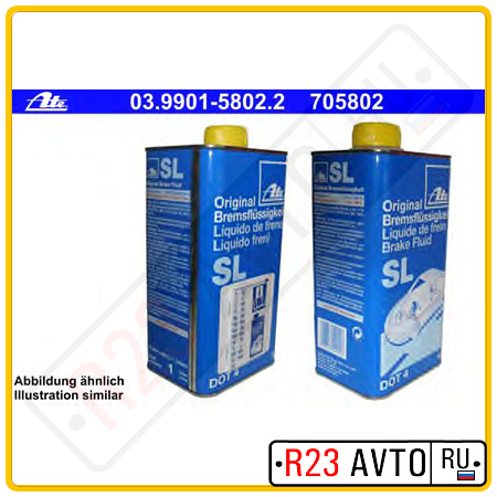Тормозная жидкость DOT-4 ATE 1L