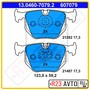 Колодки тормозные задние ATE 13.0460-7079.2