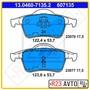 Колодки тормозные задние ATE 13.0460-7135.2