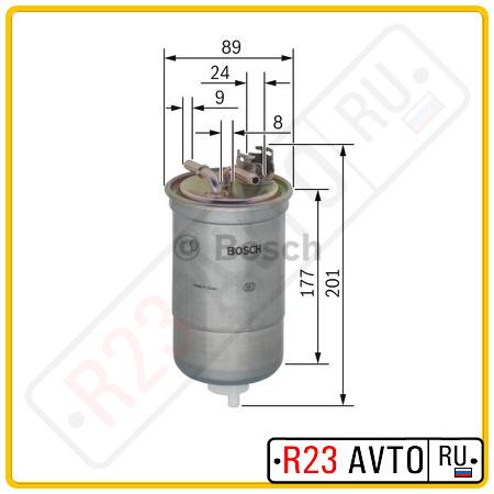 Топливный фильтр BOSCH 0 450 906 374 <N6374>