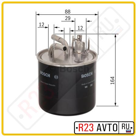 Топливный фильтр BOSCH 0 986 450 509 <N0509>