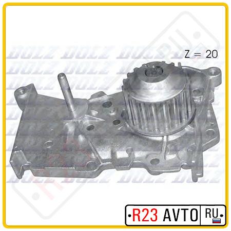 Водяной насос DOLZ R-216 (RENAULT Clio, Logan, Megane)