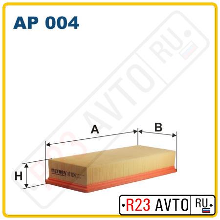 Воздушный фильтр FILTRON AP004
