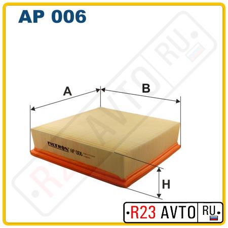 Воздушный фильтр FILTRON AP006