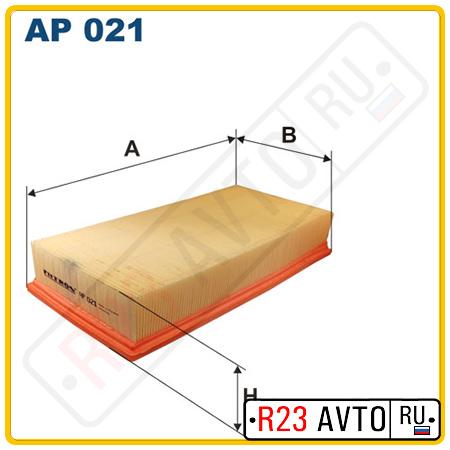 Воздушный фильтр FILTRON AP021