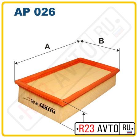 Воздушный фильтр FILTRON AP026