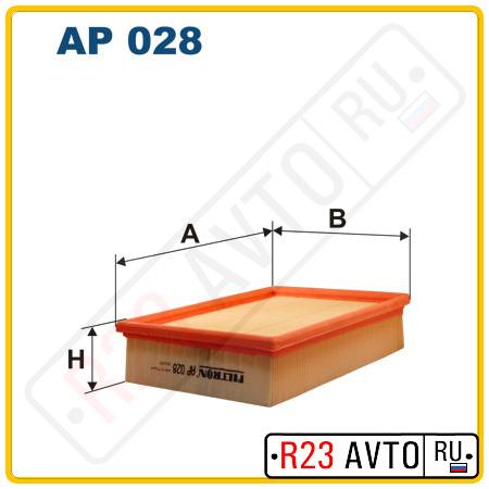 Воздушный фильтр FILTRON AP028