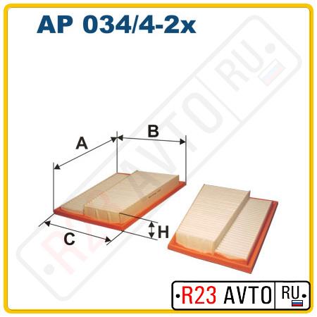 Воздушный фильтр FILTRON AP034/4-2X