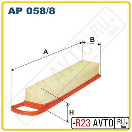 Воздушный фильтр FILTRON AP058/8