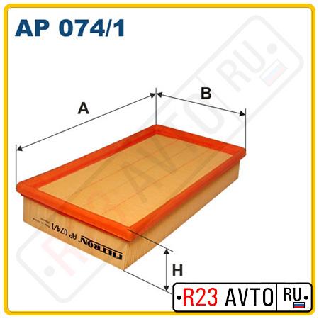 Воздушный фильтр FILTRON AP074/1