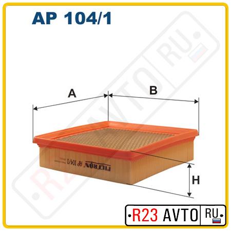 Воздушный фильтр FILTRON AP104/1