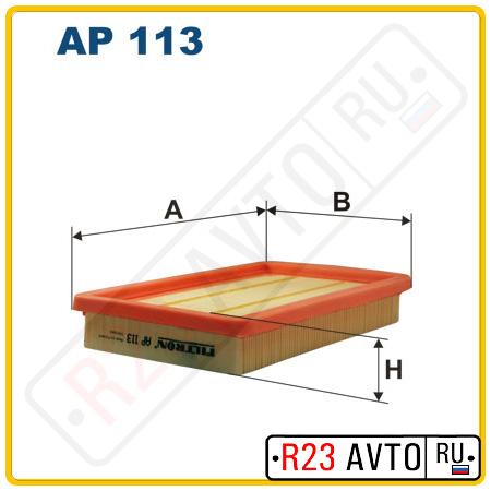 Воздушный фильтр FILTRON AP113