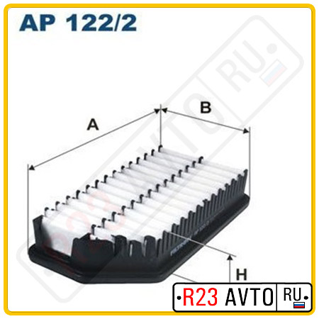 Воздушный фильтр FILTRON AP122/2