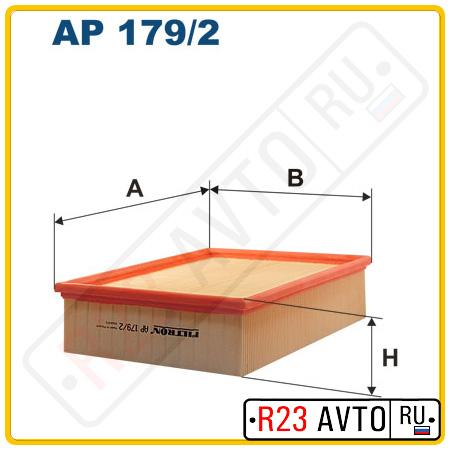 Воздушный фильтр FILTRON AP179/2