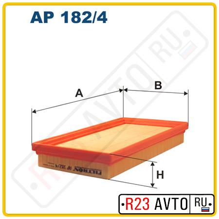 Воздушный фильтр FILTRON AP182/4