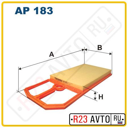Воздушный фильтр FILTRON AP183