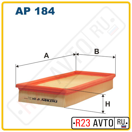 Воздушный фильтр FILTRON AP184