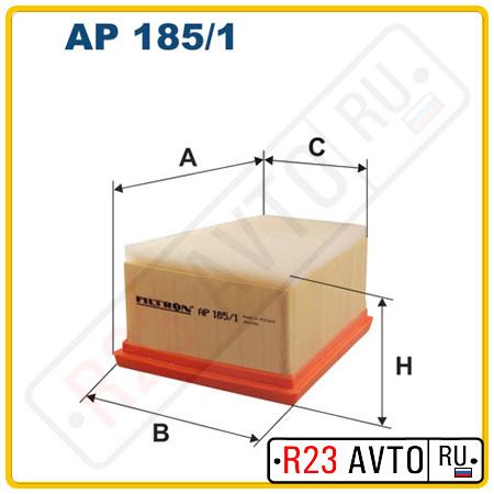 Воздушный фильтр FILTRON AP185/1 (NISSAN Almera N16)