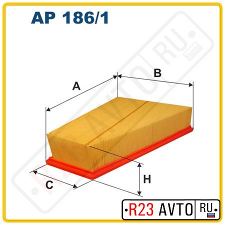 Воздушный фильтр FILTRON AP186/1