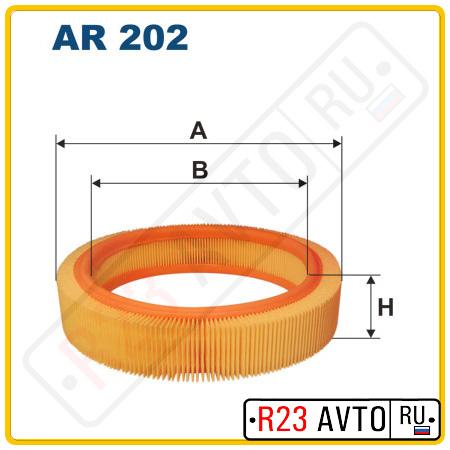 Воздушный фильтр FILTRON AR202