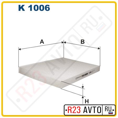 Фильтр салона FILTRON K1006