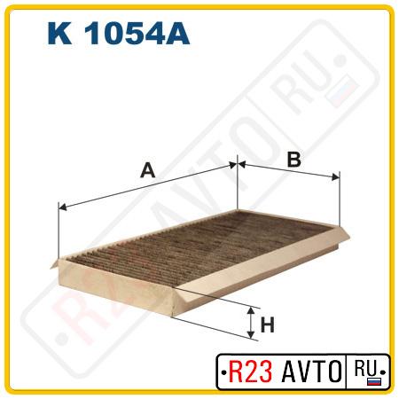 Фильтр салона FILTRON K1054A (угольный)