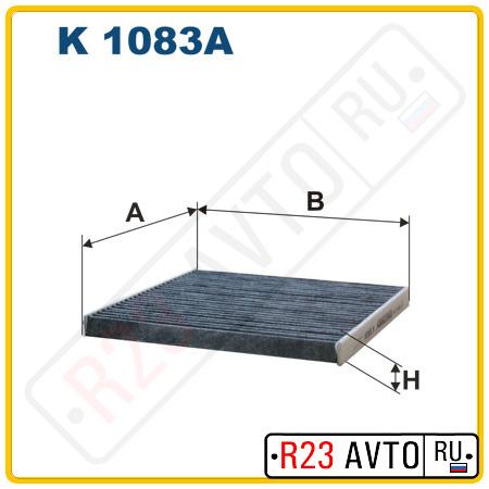 Фильтр салона FILTRON K1083A (угольный)
