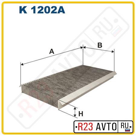 Фильтр салона FILTRON K1202A (угольный)