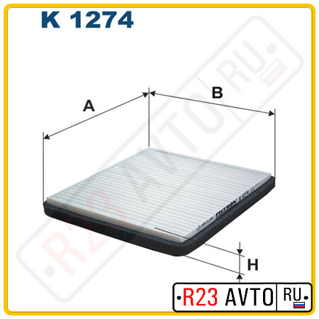 Фильтр салона FILTRON K1274