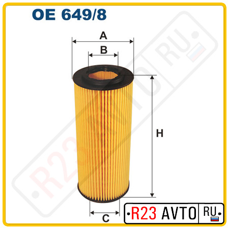 Масляный фильтр FILTRON OE649/8