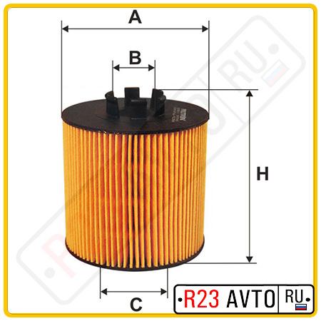 Масляный фильтр FILTRON OE650/2