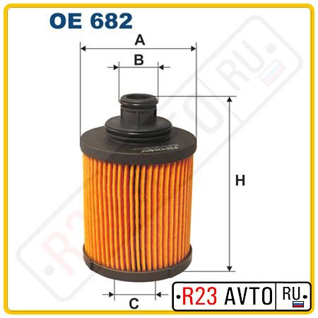 Масляный фильтр FILTRON OE682