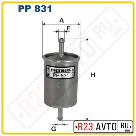 Топливный фильтр FILTRON PP831
