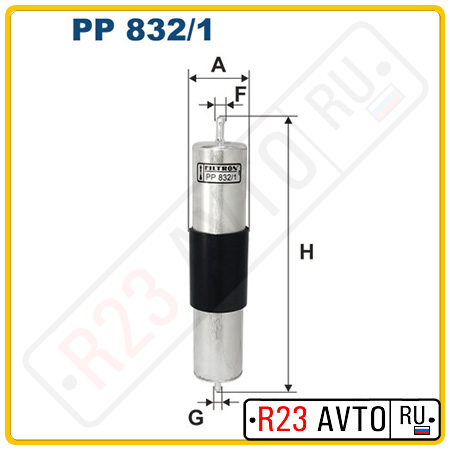 Топливный фильтр FILTRON PP832/1