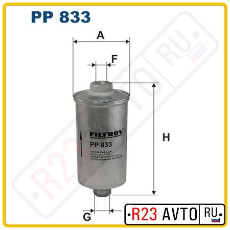 Топливный фильтр FILTRON PP833