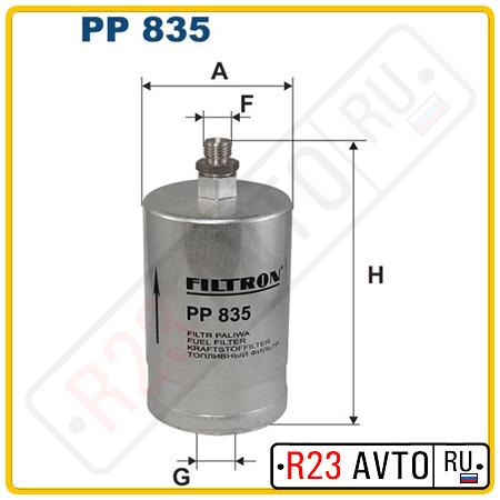 Топливный фильтр FILTRON PP835