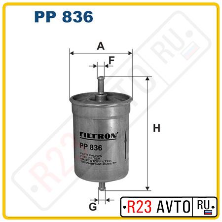 Топливный фильтр FILTRON PP836