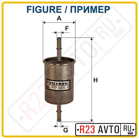 Топливный фильтр FILTRON PP866/1