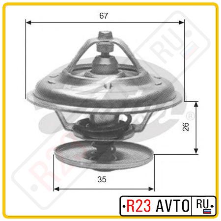 Термостат GATES TH11680G1 (VW Bora, Passat/ BMW M20/30/50/52)