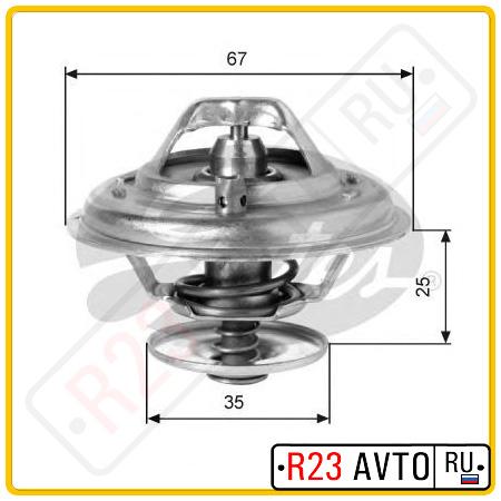 Термостат GATES TH14387G1 (AUDI 100, A4, A6, A8/VW Passsat 90-05 )