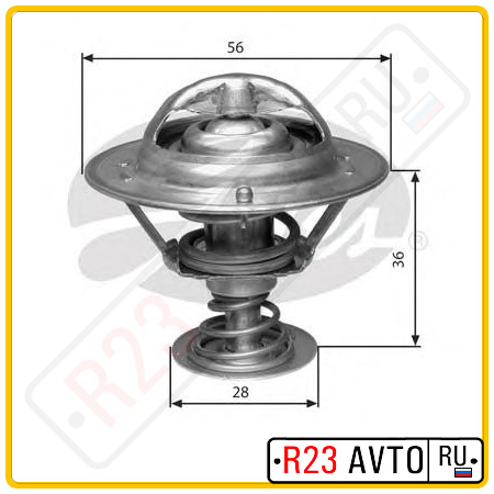 Термостат GATES TH31482G1 (TOYOTA Avensis 2.0, Corolla / RAV 4 2.0D 01-)