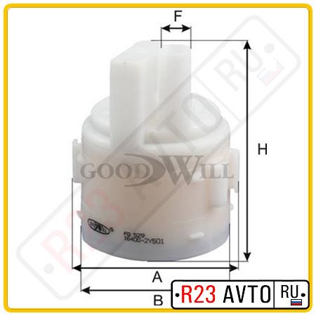 Топливный фильтр GOODWILL FG529