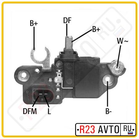 Щеточный узел генератора HUCO 13 0571 (14V)