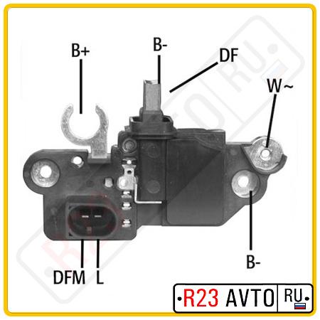 Щеточный узел генератора HUCO 13 0573 (14V)